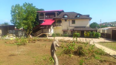 Photo for Safe and quiet one-bedroom apartment at Lakka, Freetown