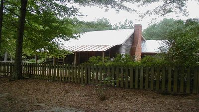 Photo for Restored 1840 historic Cottage at Oak Grove Plantation and Gardens.