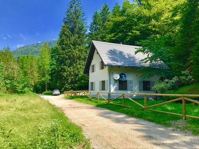 Photo for Bled Area - Gorgeous Cottage with Swimming lake