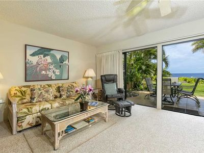 Photo for Enjoy the beauty of Maui from this 1bd Ocean View condo at Maui Kamaole. H-104