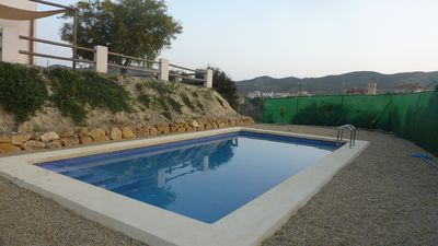 Photo for Quiet Country Cottage, Close to the sea, New private pool, Mountain view,