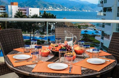Lunch on the Terrace