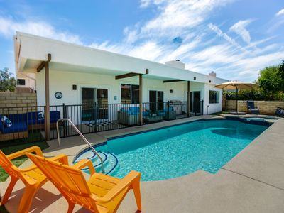Photo for Modern Desert Home with Private Pool on a Golf Course close to everything!