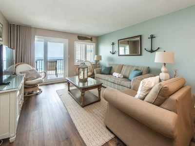 Photo for Hol Surf & Racquet Club 710-2BR☀Jul 29 to Aug 1 $1,306 Total☀Gulf Views-Updated!