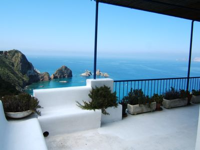 Photo for Beautiful villa on a quiet bay with a stunning view