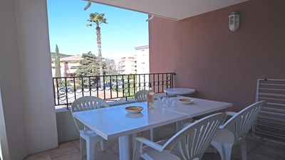 Photo for Apartment T3 - 4/5 people - Air conditioning - WiFi - Swimming pool residence - Sainte Maxime