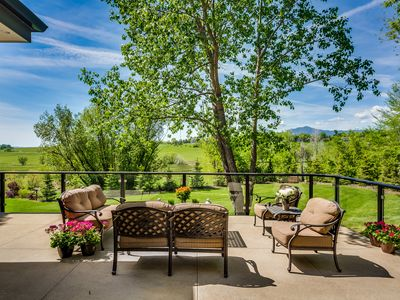 Photo for Spectacular 12-Acre Estate - Boulder Reservoir swimming right in your backyard!
