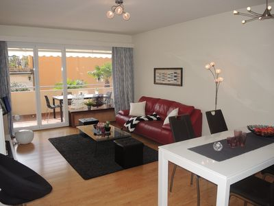 Photo for This recently renovated appartement, on the first floor of an apartement house,