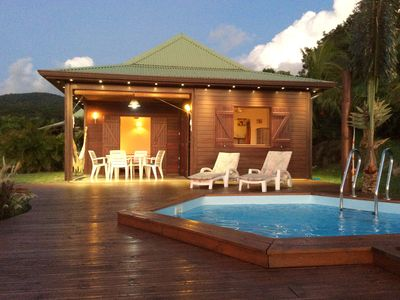 Photo for Bungalows and holiday houses in a green setting, with an exceptional panorama
