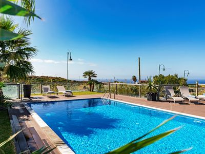 Photo for Spacious Villa With Heated Pool And Stunning Sea Views | Villa Sol e Mar