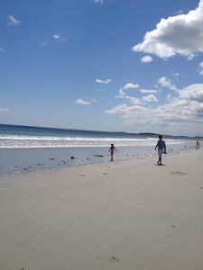 Another busy day at Goose Rocks Beach.