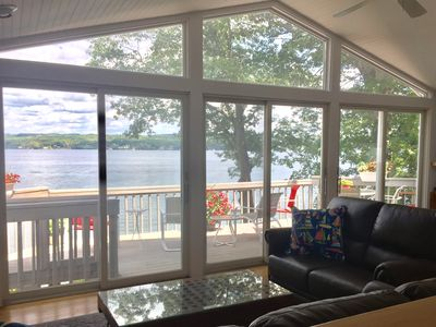 Photo for FamilyFriendly Lakefront House 3 miles out. Get 2019 Summer rates now for 2020