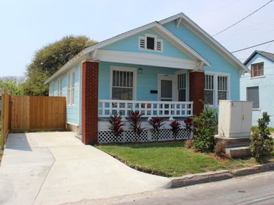 Photo for Close to Everything! - One Block to the Beach, Restaurants, Bars, Pleasure Pier