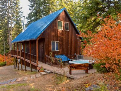 Photo for Lovely Leavenworth Cabin w/Hot Tub-Ideally Located