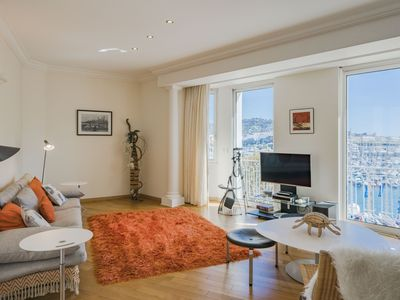Photo for Wonderful 2 bedroom overlooking the old port