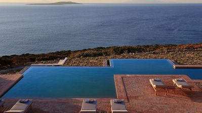 Photo for Blue Sea Villa, luxury property in Antiparos, with private pool, 11 bedrooms, 22 sleeps