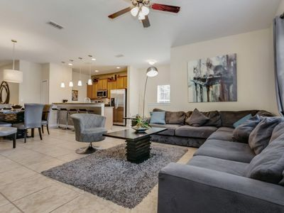 Photo for EV7835HA - 5 Bedroom Townhouse In Paradise Palms Resort, Sleeps Up To 12, Just 4 Miles To Disney