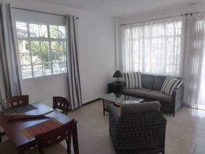 Photo for 300 meters beach - air-conditioned apartment - any comfort - TV -