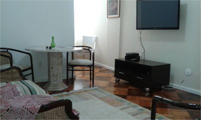 Photo for Apartment 2 all new rooms, 1 block from Copacabana beach - Closest subway