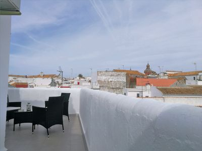 Photo for Apartment with terrace and spectacular views