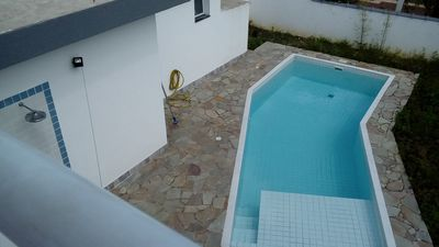 Photo for House New c / 4 qtos. pool and barbecue next to the house - Air cond in the suites
