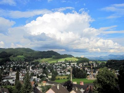 Photo for Apartment on the most beautiful panoramic position in the forest in the Zurich Oberland