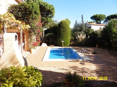 Photo for Villa-Air conditioning-Private Pool-Cherished Garden-10 mins from beach