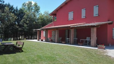 Photo for Farmhouse Colle Ombroso - Apartment L'Agrifoglio