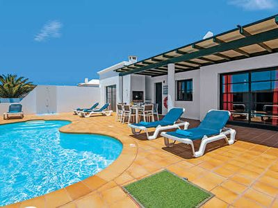 Photo for A delightfully modern and well appointed villa within a short distance of Playa Blanca.