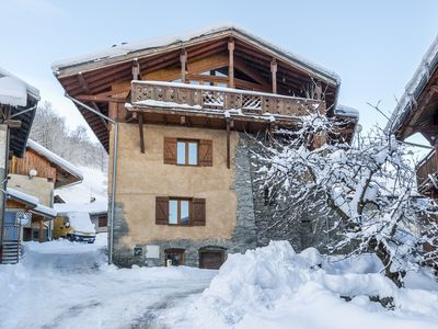 Photo for Catered Ski Chalet: 260 year old Farmhouse With Stunning Mountain Views