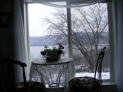 Photo for B&B with lake views in the Village! Penthouse Room/Lake Valley Legends, B&B