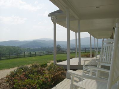 View from High Fields front porch