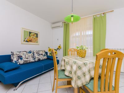 Photo for Funky One-Bedroom Apartment with Terrace, Novalja