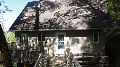 East Side of Harborview Cottage.