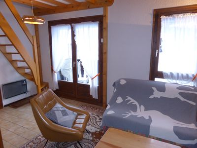 Stay in our bright and spacious apartment in Les Contamines Montjoie!