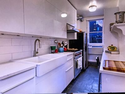 Newly renovated kitchen with Wolf Stove!