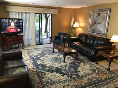 Photo for Large, Updated Condo Near The Strip- 2 Pools -Hot Tub-WIFI ( D-2 Foothils)