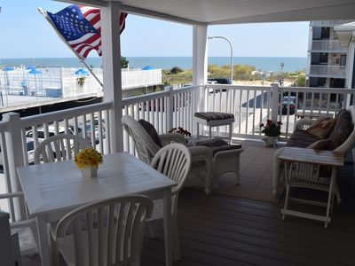 Photo for Beachgoer's Haven - Just Steps To The Beach- 88th St. - All The Comforts of Home