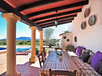 Photo for Vacation home Fonsala in Moraira - 6 persons, 3 bedrooms