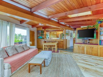 Photo for Chic, upper-level home w/ a great deck - walk to Golden Gardens Park!