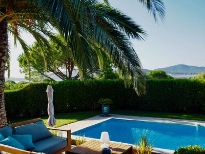 Photo for VILLA SEA VIEW with pool in a secure private estate with private beach