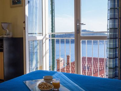 Photo for Blue room with splendid Sea view