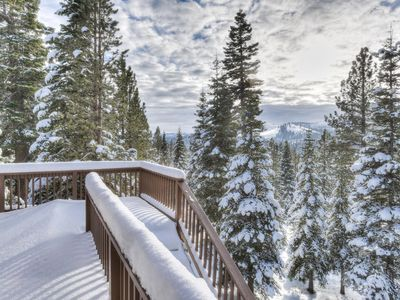 Photo for Bright & Spacious Tahoe Donner Home w/ Views