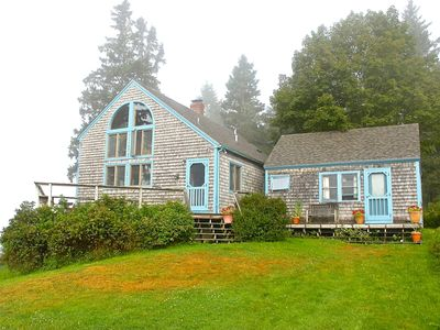 Peaceful post-and-beam with gorgeous view on Little Deer Isle