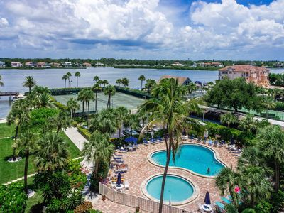 Photo for Just Renovated !!!  Harbor Towers Yacht  &  Racquet Club -Siesta Key Beach Condo