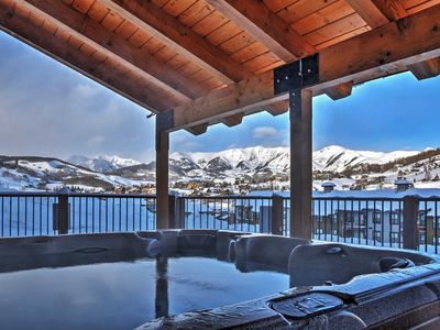 Photo for 3BR Crested Butte Townhome w/Hot Tub Access!