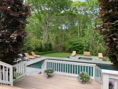 Photo for Private, Airy, Recently Renovated, Heated Pool and Spa, Near Everything!
