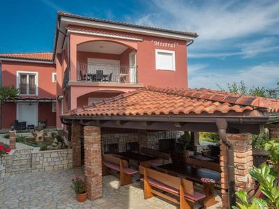 Photo for Holiday apartment Lopar for 4 - 6 persons with 2 bedrooms - Holiday apartment in a villa