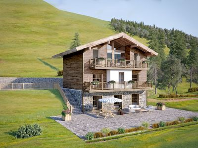 Photo for Lynx Lodge - Luxurious mountain chalet for up to 16 people