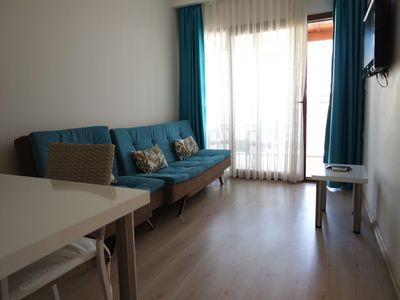 Photo for Luxury self catering 1 bedroom holiday apartment for rent in Turgutreis, Bodrum